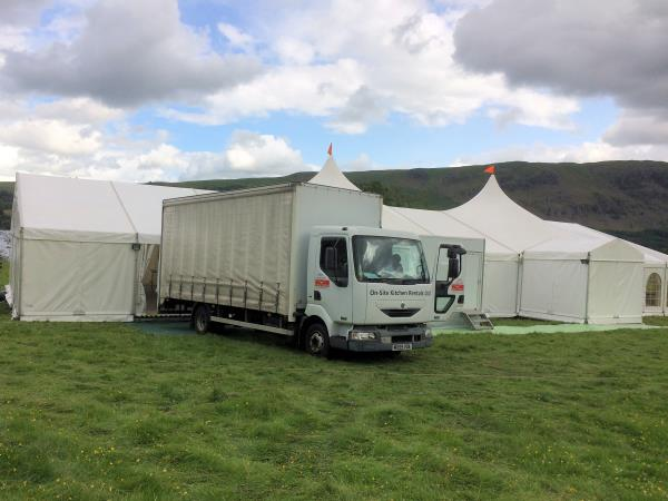 Marquee - Large events kitchens, Scotland