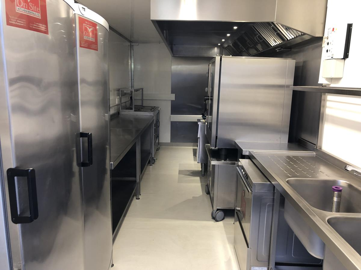Our easily manoeuvrable trailer kitchen makes an ideal takeaway or replacement kitchen for smaller catering requirements.